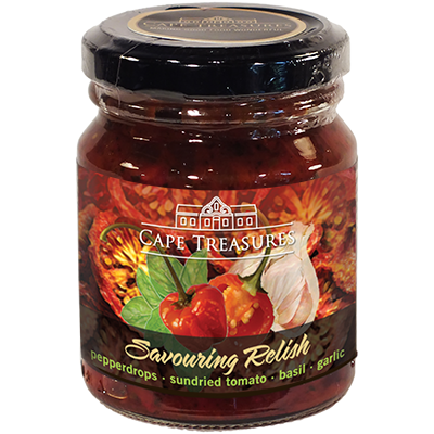 Cape Treasures Pepperdrop Savouring Relish