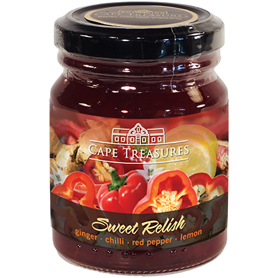Cape Treasures Sweet Ginger & Chilli Relish
