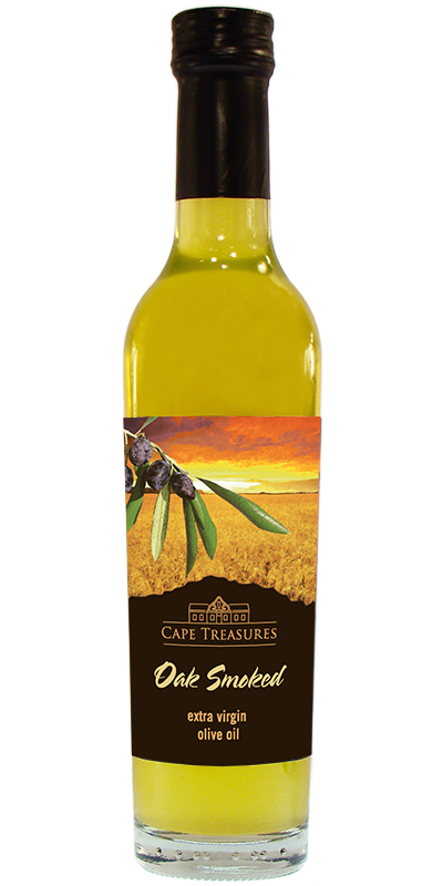 Cape Treasures Oak Smoked Olive Oil