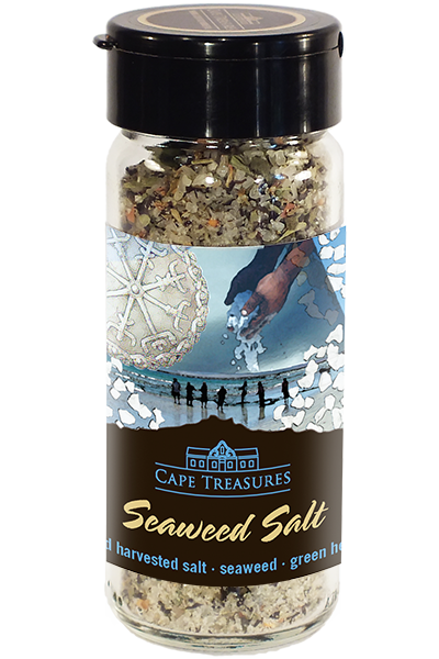 Cape Treasures Khoisan Natural Salt: Seaweed Salt