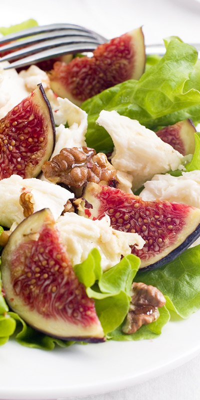 Cape Treasures Balsamic Vinegar infused with Sundried Fig: Fig salad