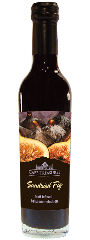 Cape Treasures Balsamic Vinegar Infused with sundried Fig