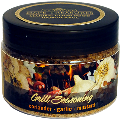 Cape Treasures Grill Seasoning Tub