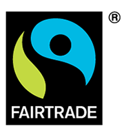 Logo of Fairtrade International on Cape Treasures Home Page