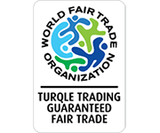 WFTO Turqle Trading guaranteed fair trade logo